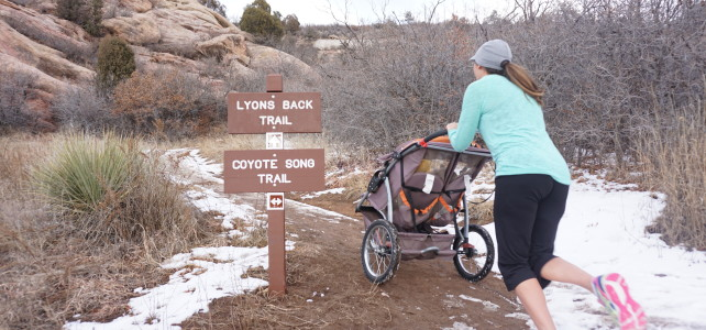 7 tips to start trail running, with a jogging stroller!