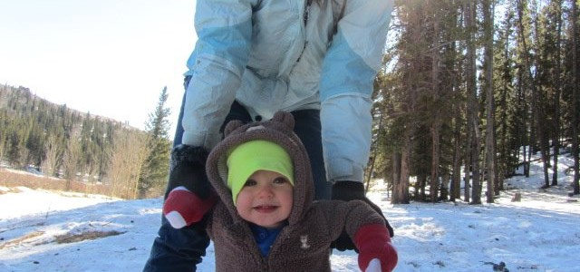 5 Hacks for Winter Hiking with Kids